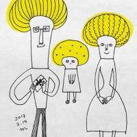 マッシュルーム家族